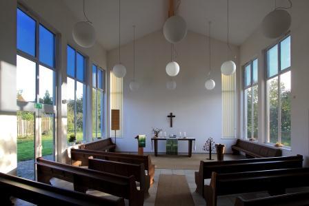 neue Kirche Laer innen 1